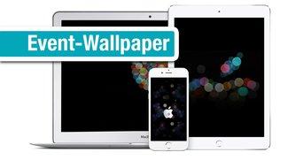 Wallpaper fürs Apple Event: Wandschmuck für den iPhone-Homescreen und den Mac-Desktop