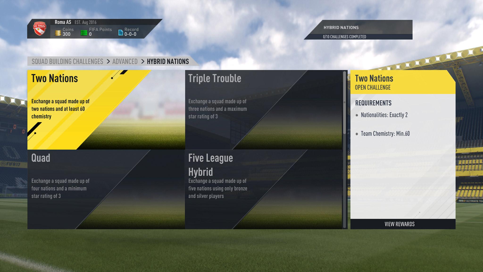Fifa 17 Squad Building Challenges Vorgestellt Giga