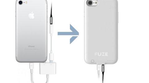 Fuze: Crowdfunding-Projekt bringt dem iPhone 7 (Plus) die Klinkenbuchse zurück