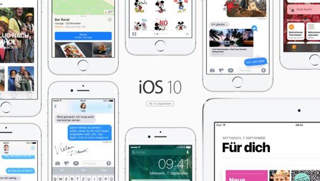 Golden Master von iOS 10, watchOS 3, macOS Sierra und tvOS 10 verfügbar