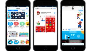 Mario- und Disney-Sticker in iMessage: Der App Store in iOS 10 ist live