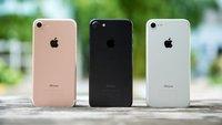 Glas und Stahl fürs iPhone 8, iPhone 7s im bekannten Alu-Mantel
