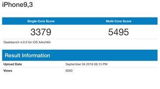 Geekbench: A10 im iPhone 7 angeblich 35 Prozent schneller