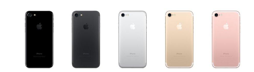 iPhone 7 Modelle