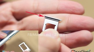 Wasserdichtes iPhone 7: SIM-Tray mit Gummi-Lippe gesichtet