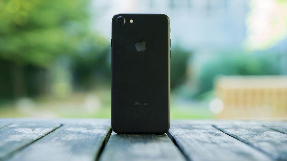 iPhone 7 in mattschwarz