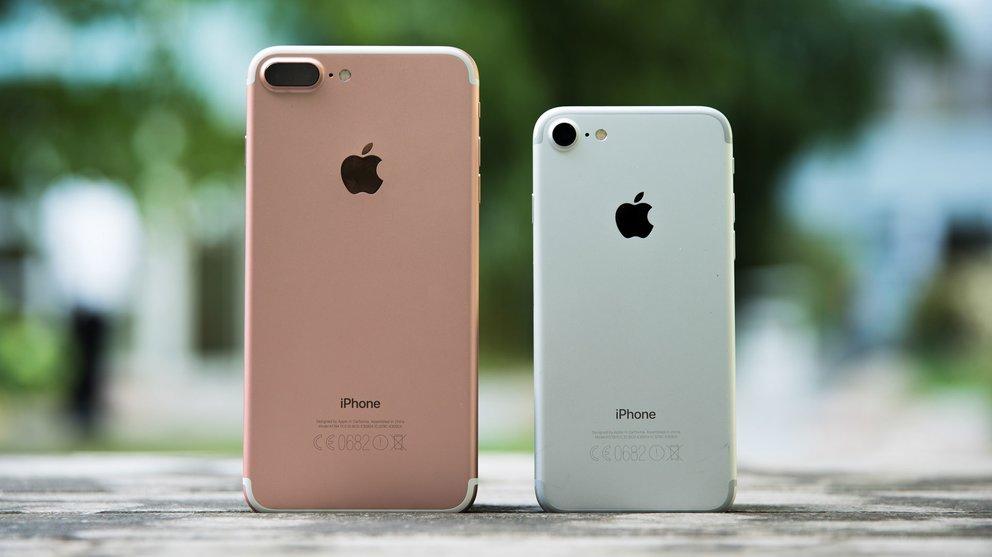 iPhone 7 Plus und iPhone 7