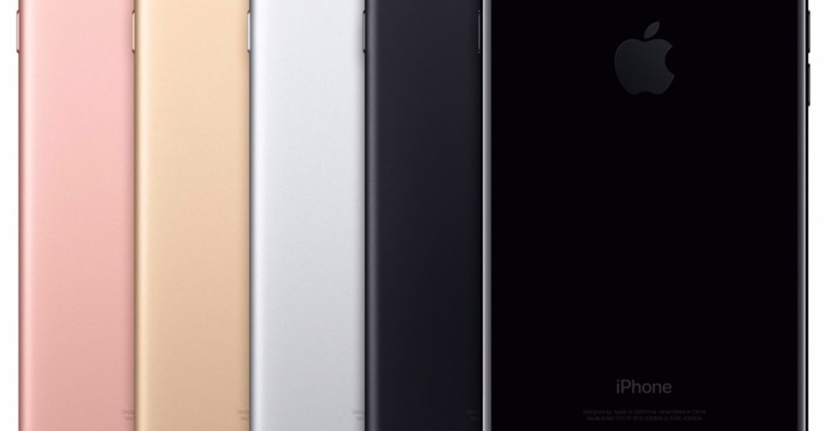 die neuen iphone 7 farben bilder der apple qualit t in. Black Bedroom Furniture Sets. Home Design Ideas