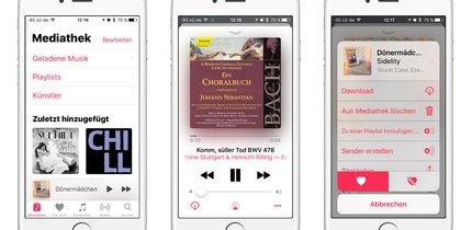 Musik-App in iOS 10: Tipps zum Musikhören auf iPhone und iPad
