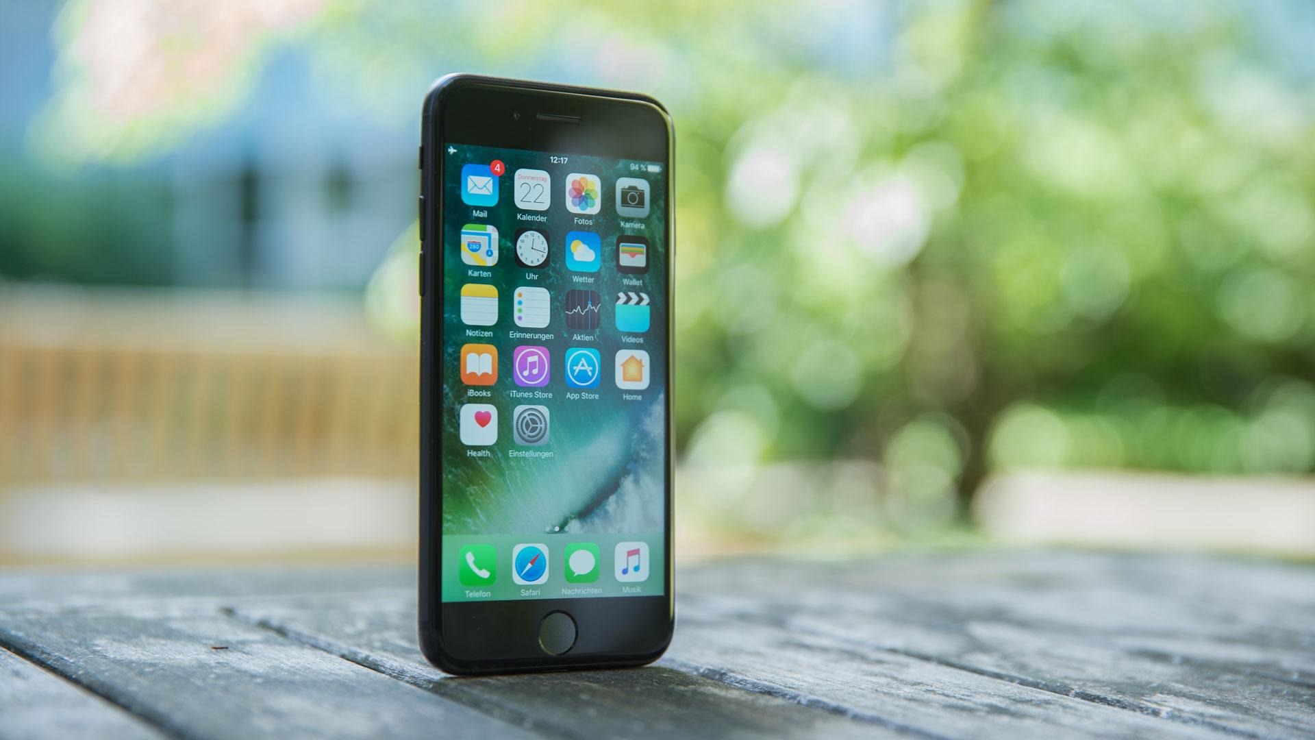 Schwarzes iPhone 7 Schwarzes iPhone 7