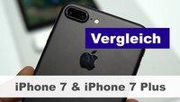 iPhone 7 & iPhone 7 Plus: Vergleich und Unterschiede