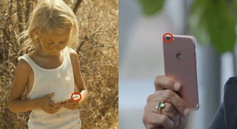 """Werbespot zeigt: Apple schämt sich für """"Kamera-Hubbel"""" des iPhone 7"""