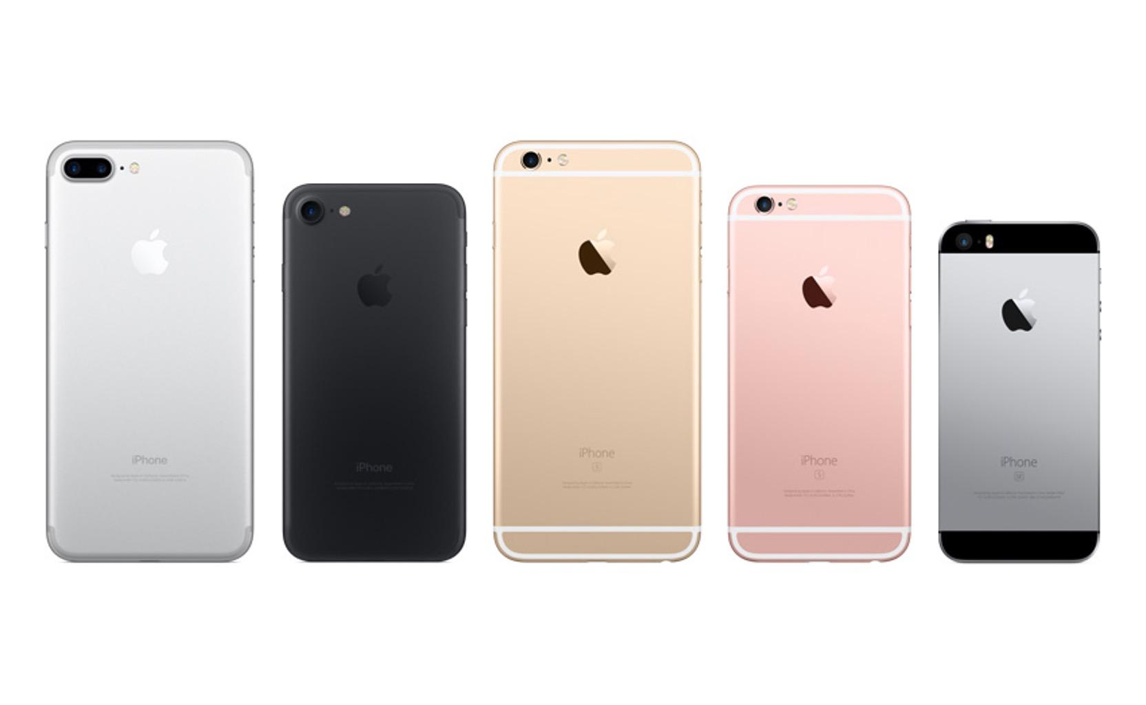 IPhone 7 Plus 6s Und SE Im Vergleich GIGA