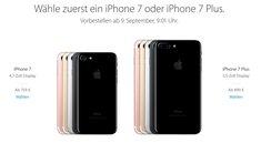 iPhone 7: Preise in der Übersicht – so viel kostet es…