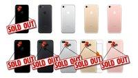 Apple zum Verkaufsstart des iPhone 7: Schlechte Chancen für direkte Store-Mitnahme