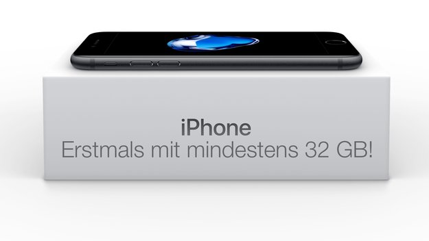 Mit dem iPhone 7 in ungeahnte Speicherhöhen: Danke Apple! (Kommentar)