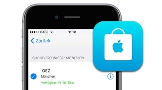 iPhone 7 reservieren und im Apple Store abholen, so wird's gemacht