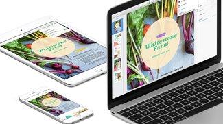 iWork für iOS: Update für Echtzeit-Zusammenarbeit jetzt erhältlich