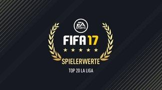 FIFA 17: Die Top 20 Spieler der spanischen La Liga-Primera División
