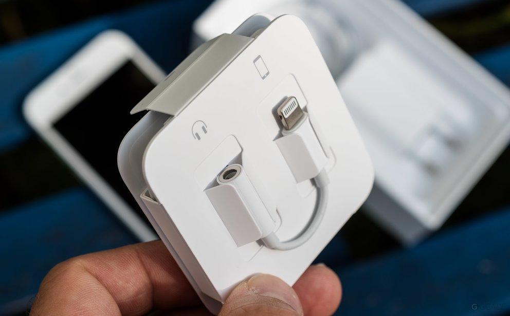 iPhone 7 Lightning-Klinke-Adapter