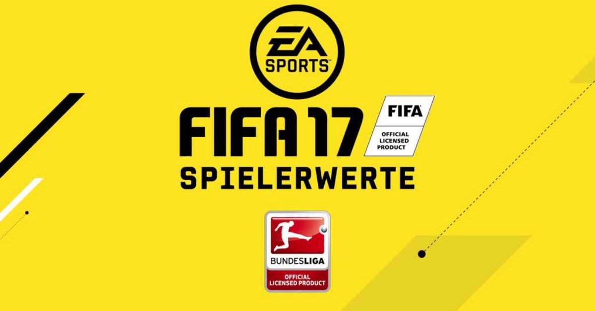 fifa 17 top 20 spieler der bundesliga die stars in deutschland giga. Black Bedroom Furniture Sets. Home Design Ideas