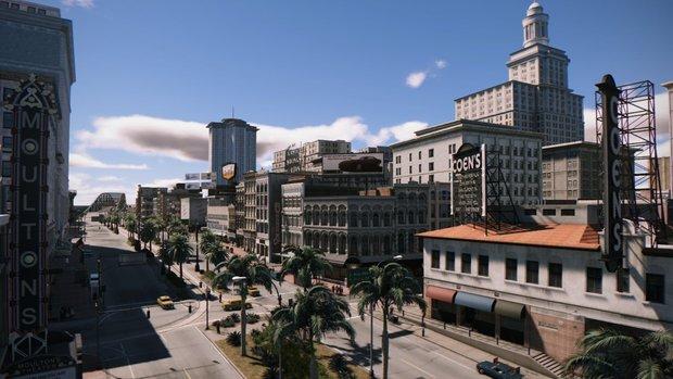 Mafia 3: Karte von New Bordeaux - Kartengröße und alle Stadtbezirke