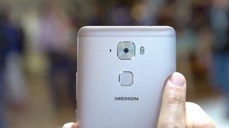 Medion X5520: High-End-Smartphone für 299 Euro im Hands-On-Video