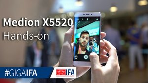 Medion X5520: Premium-Smartphone zum Budget-Preis im Hands-On