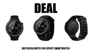 Sportlich! Motorola Moto 360 zum unschlagbaren Preis