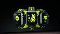 Apple Watch Nike+: Sondermodell der Series 2 in Zusammenarbeit mit Nike