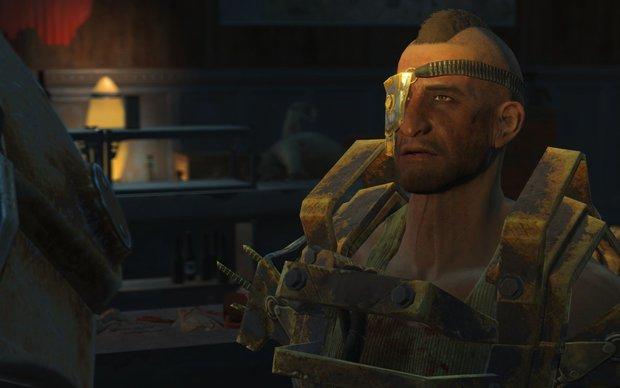 Fallout 4 - Nuka World: Porter Gage, alle Infos zum neuen Begleiter