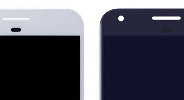 Google-Phones: Pixel und Pixel XL zeigen Ähnlichkeit zum Nexus 4