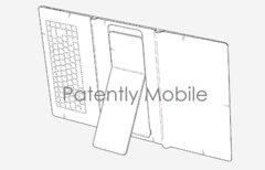 Samsung-Patent zeigt faltbares...