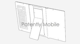 Samsung-Patent zeigt faltbares Tablet mit Tastatur und Kickstand
