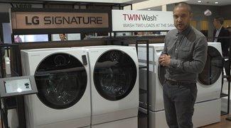 LG Signature TwinWash: Premium-Waschmaschine mit Doppelkammer und integriertem Trockner im Video