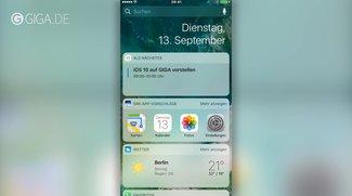 iOS 10: Fünf Highlights im Video