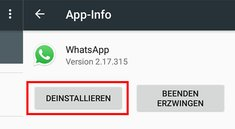 WhatsApp deinstallieren (Android & iPhone) – so geht's