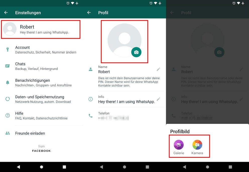 Whatsapp Profilbild ändern So Gehts
