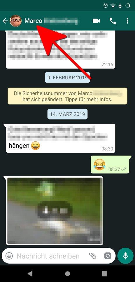 Bilder Von Whatsapp Speichern