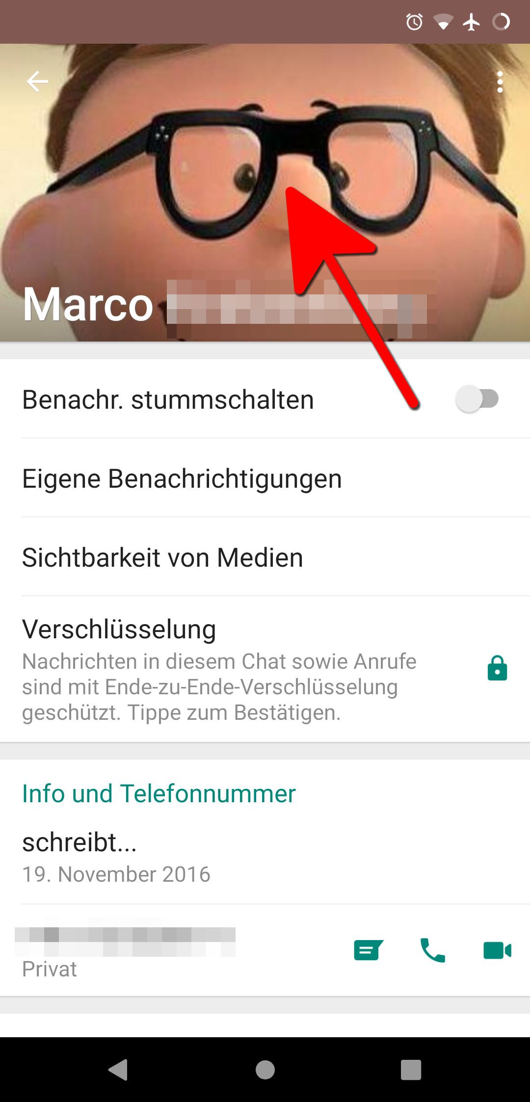 Profilbild Whatsapp