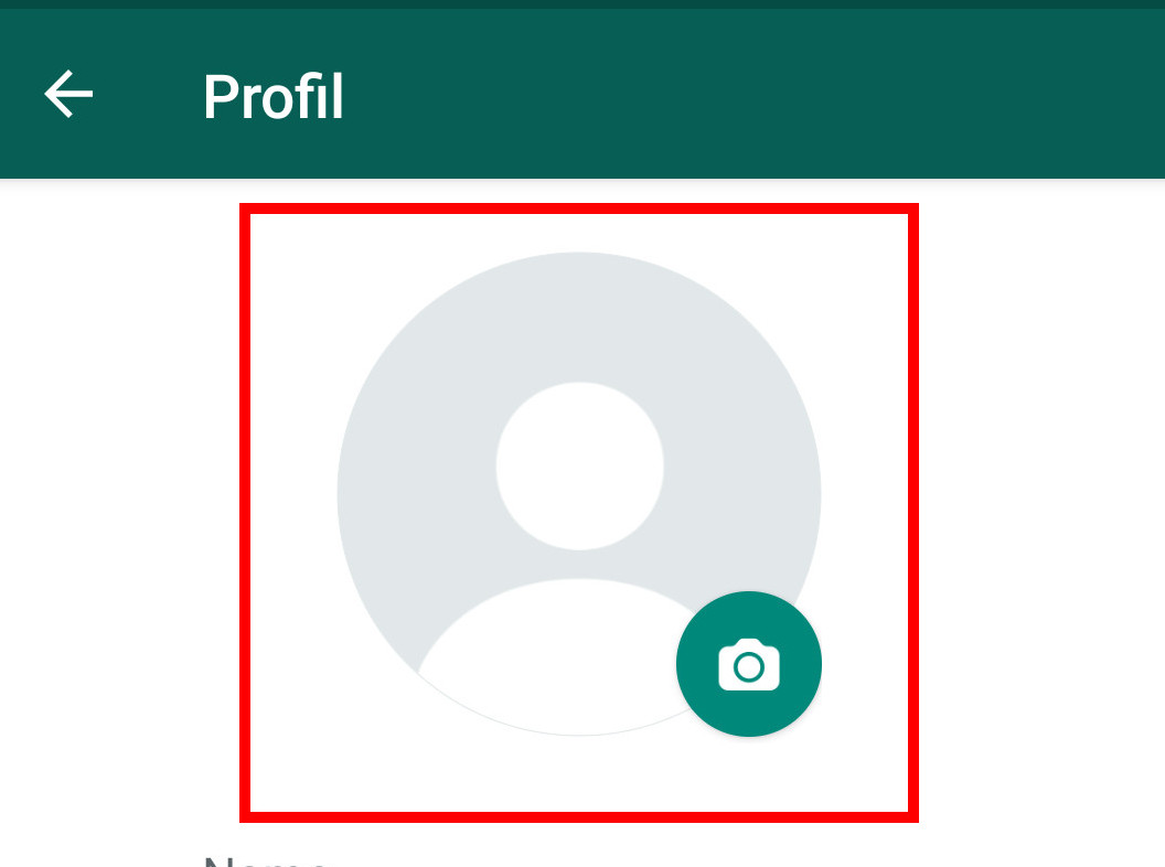 Whatsapp profilbild ohne verschwommen
