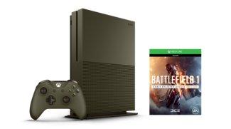Battlefield 1 im Bundle mit Xbox One S in Militär-Optik verfügbar