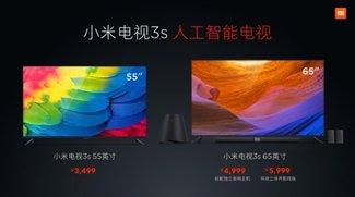 Xiaomi Mi TV 3s: Günstige Ultra-HD-Fernseher mit künstlicher Intelligenz