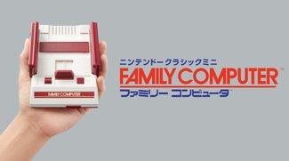 Nintendo Classic Mini: Neu angekündigter Famicom begeistert japanische Retro-Fans