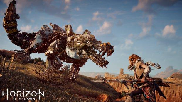 Horizon Zero Dawn: Neues Video zeigt erstmals brutales Roboterkrokodil