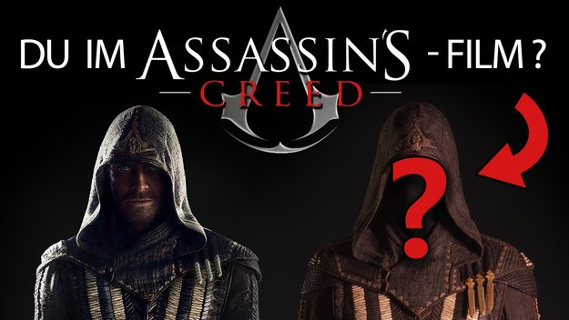 Du bist der Star: Gewinn eine Sprechrolle im Assassin's-Creed-Film!