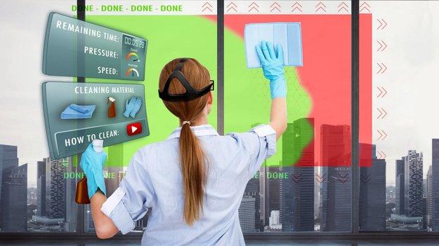 AR-Check: Datenbrille soll zeigen, wo noch geputzt werden muss