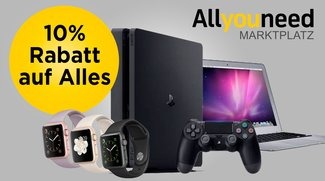 10 Prozent Rabatt auf Alles bei Allyouneed.de ohne Mindestbestellwert!