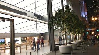 Vor dem Mac-Event: Rege Aktivität vor und in den Apple Stores