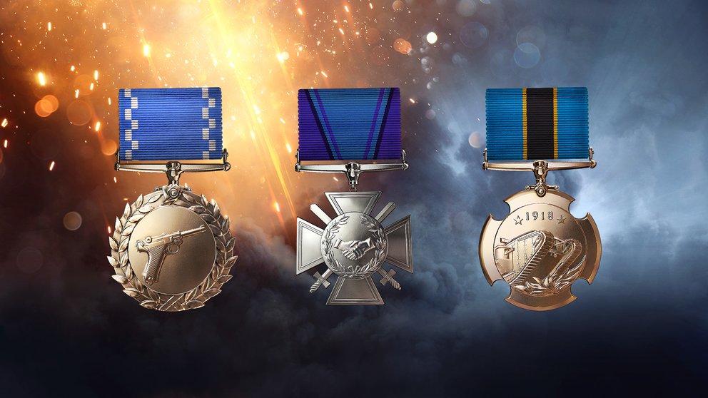 Battlefield 1 Medaillen